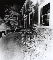 Pinhole negative - Brontë Parsonage Museum