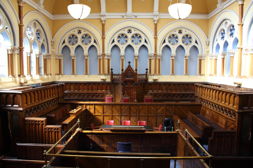 Courtroom, Bradford City Hall
