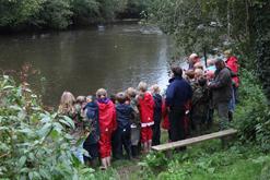 Measuring flow, River Torridge