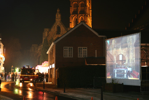 Town centre projection, Howden
