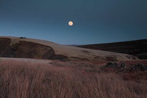 Moonrise, Haworth Moor