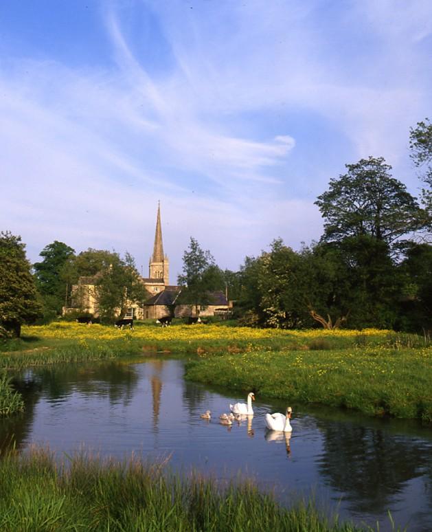 River Windrush at Burford, Oxfordshire